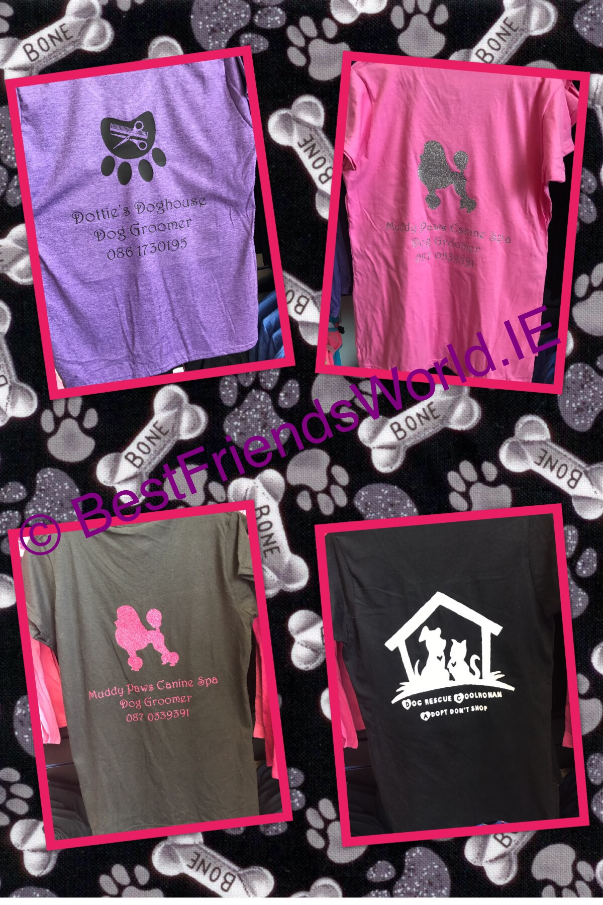 Adult Garments & Tees Personalised